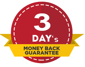 3 days money back
